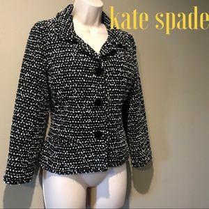 Kate Spade cropped sleeve Blazer, Size 4
